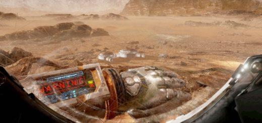 The Martian VR experience. (Image courtesy The Virtual Reality Company.)