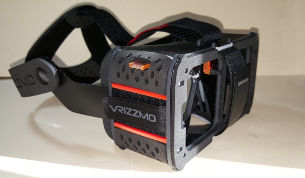 The Vrizzmo Revolt headset.