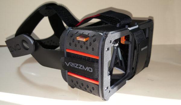 The Vrizzmo Revolt headset.
