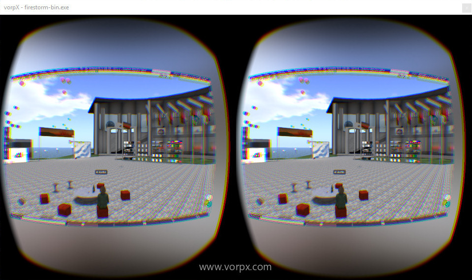 Second Life and OpenSim in VR using VorpX – Hypergrid Business