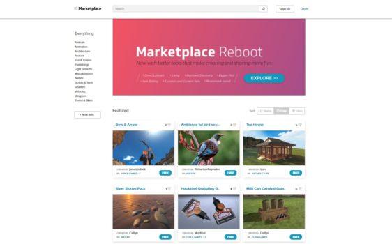 High Fidelity Marketplace