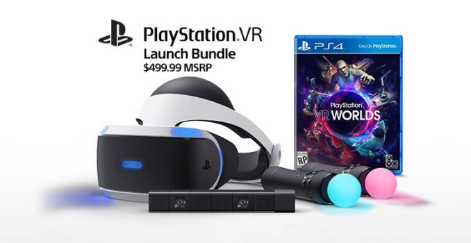 PlayStation VR launch bundle. (Image courtesy Sony.)