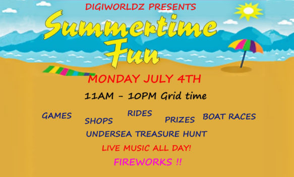 Summertime Fun on DigiWorldz