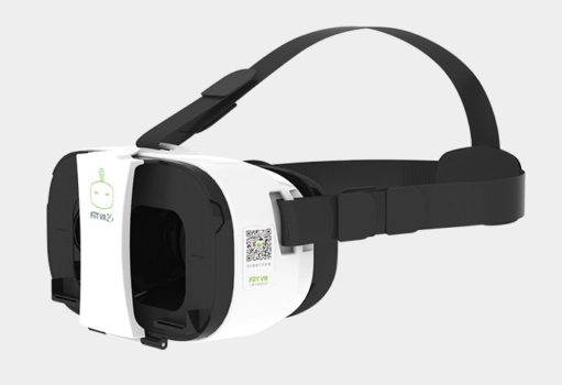 FiiT VR 2S with its straps. (Image courtesy FiiT VR.)