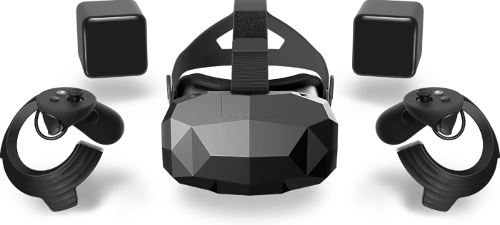 Hypereal promises Vive-style room-scale motion tracking. (Image courtesy Hypereal.)