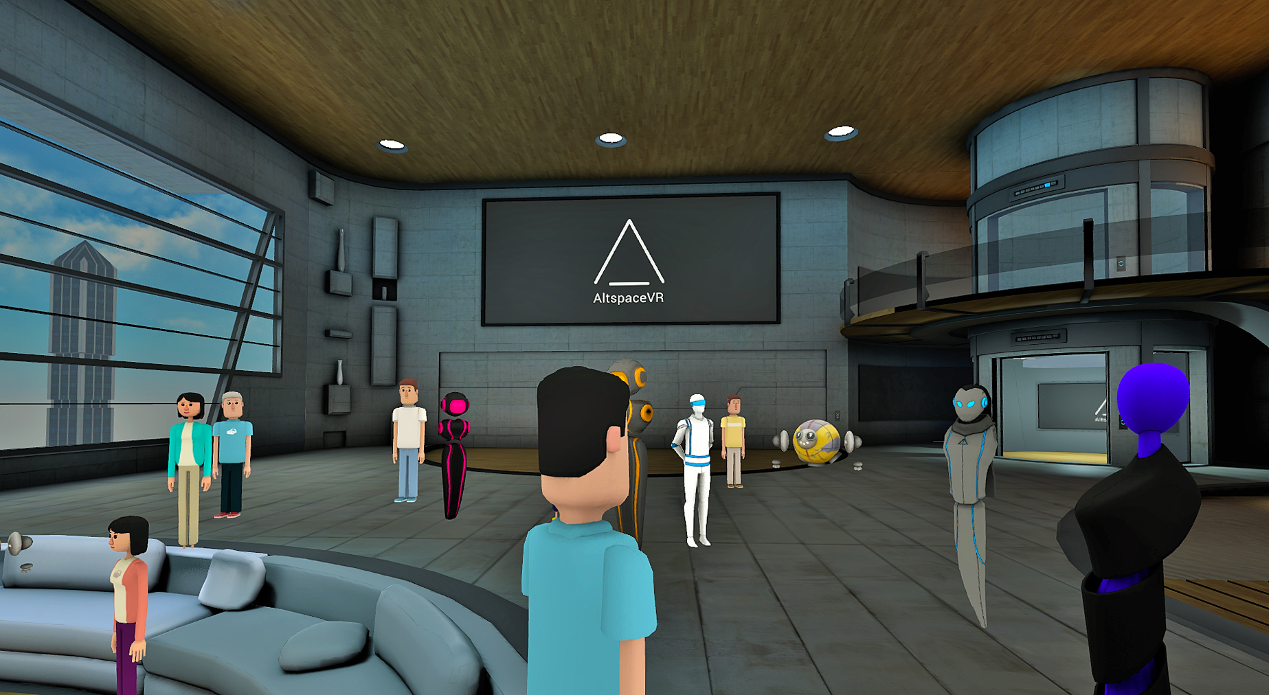 Altspacevr zeros in on social virtual reality for Vr house