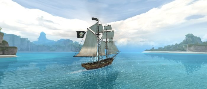 Still from Assassin's Creed Pirates demo by Ubisoft.