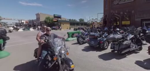 7th Annual Sturgis Motorcycle Rally. (Image courtesy AARP.)