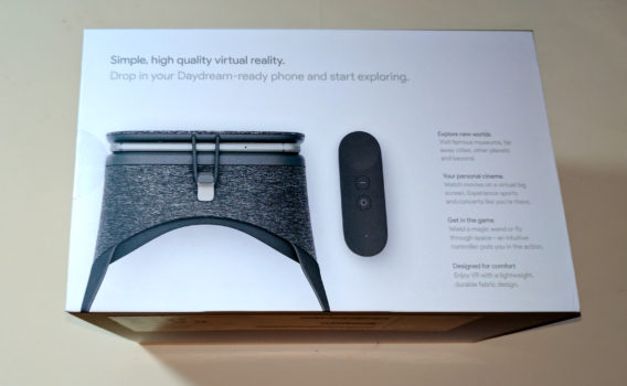 The Daydream View in its box. (Photo by Maria Korolov.)