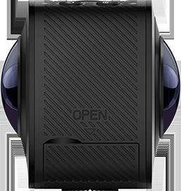 Side view of the EleCam 360 camera. (Image courtesy ELEPhone.)