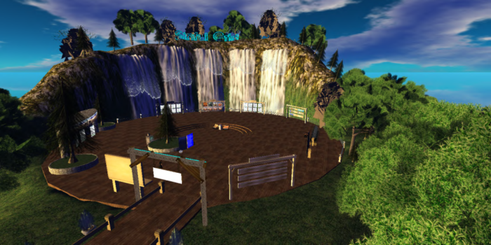 Sinful Grid Welcome Center. (Image courtesy Sinful Grid.)