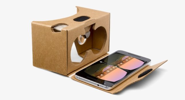Google Cardboard V2. (Image courtesy Google.)